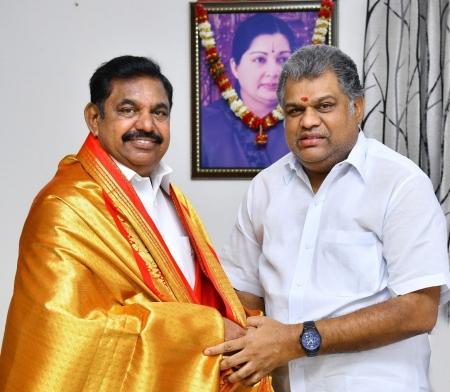 GK Vasan meets Chief Minister Edappadi Palanisamy - Gk vasan- edappadi  palanisamy- cm - tamilnadu- aiadmk - wishes | Thandoratimes.com |